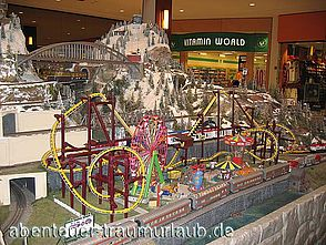 Foto: Miniaturausstellung in der Aventura Mall - Miami.