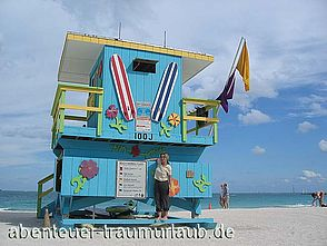 Foto: Baywatch am Miami Beach