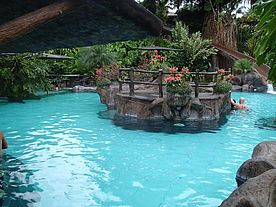 Foto: Hot Springs im Hotel Los Lagos in La Fortuna Costa Rica.