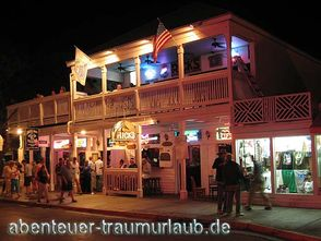 Foto:Ricks Bar in der Duval Street Key West - Florida
