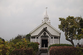 Fotos der St. Benedict´s Painted Curch auf Big Island.