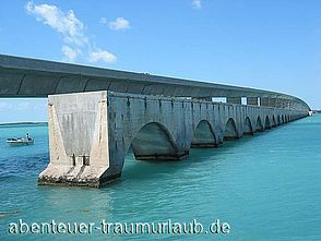 Fotos: Der Overseas Highway US1 in Florida.