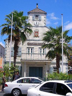 The Court House in Phillipsburg St Martin/St Maarten