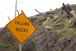 "Foto: Schilf ""Falling Rocks"" auf Hawaii - Big Island"
