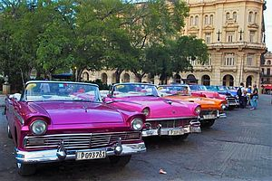 US Oltimer in Havanna - Kuba