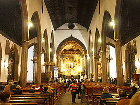 Foto: In der Kathedrale Se in Funchal