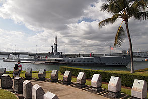 Foto: Besucher U-Boot U.S.S Bowfin in Pearl Harbour.