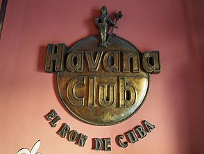 Foto: Logo des Museo del Ron Havanna Club in Havanna - Kuba