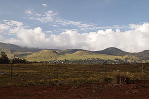 Foto: Kraterlandschaft an der Saddle Road auf Big Island.